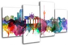 Berlin Watercolour  Abstract City - 13-6032(00B)-MP04-LO
